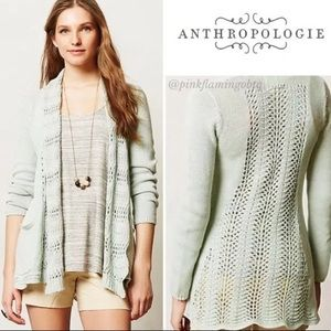 Anthropologie Angel of the North Cardigan